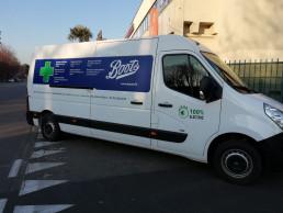 grafiche personalizzate per furgoni