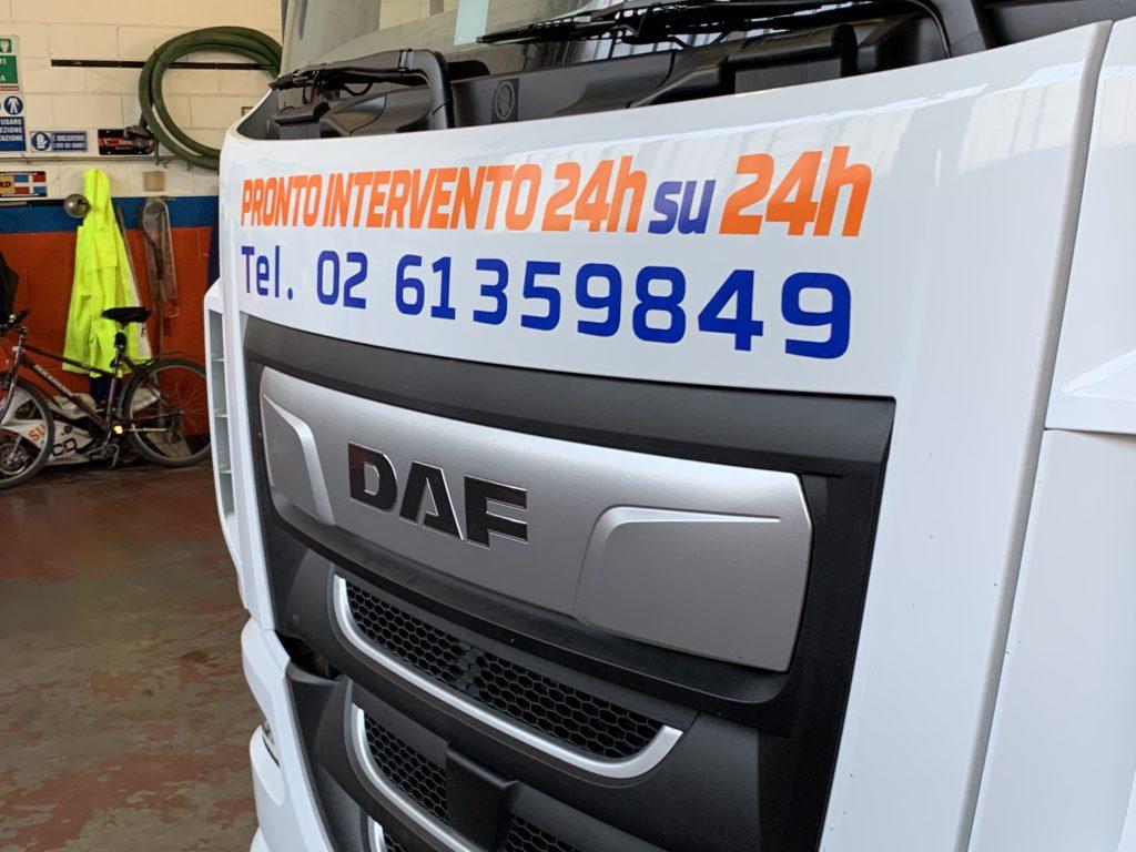 decorazione furgone