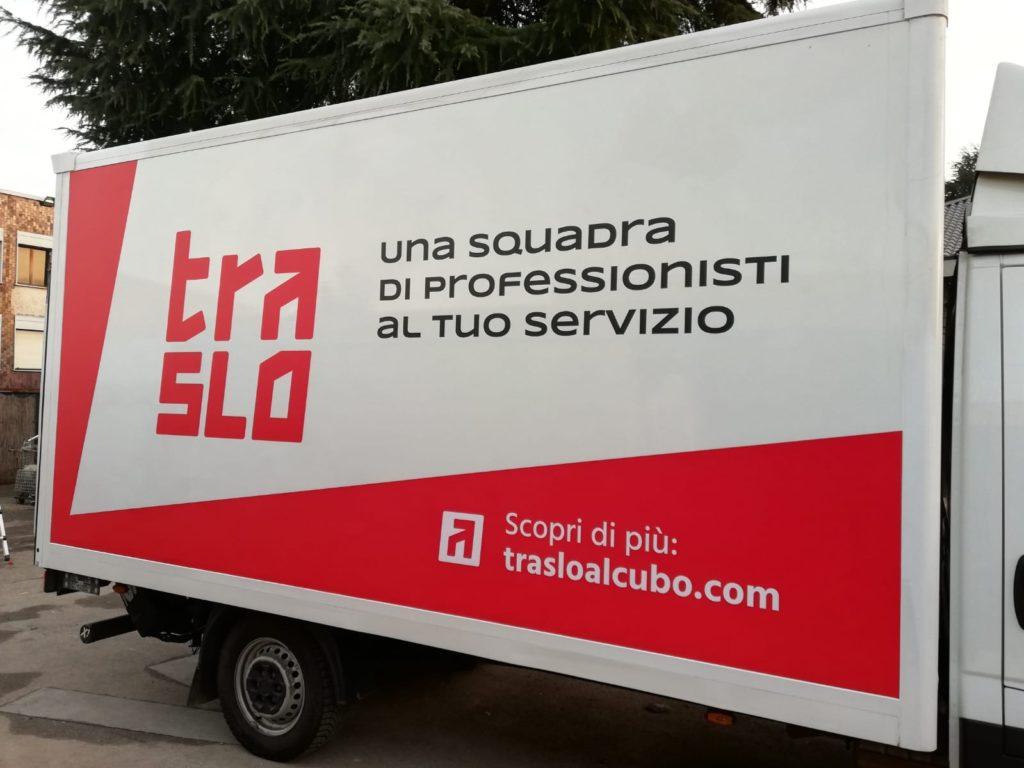grafica furgone personalizzata
