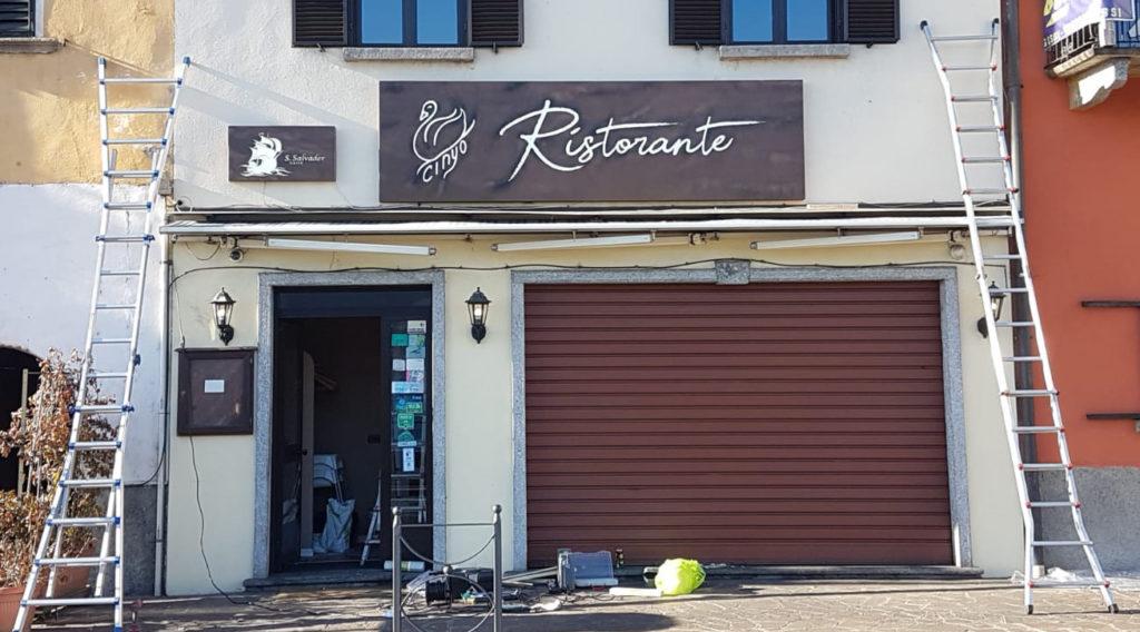 foto insegne ristorante