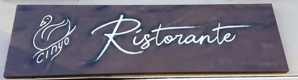 insegne ristorante