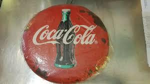 insegna vintage coca cola